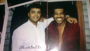 Gillie with Ben E King